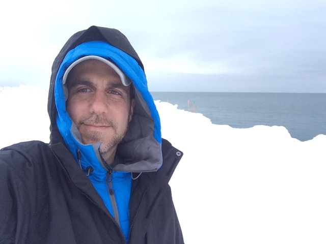 Sean Vesce in Barrow, Alaska